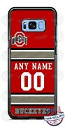 Ohio State Buckeyes Phone Case Cover For Iphone Samsung Google Lg Name And Number
