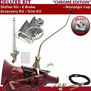 700r4 Shifter Kit 23 Swan E Brake Cable Clevis Trim Kit For Ea7cf Trans Auto