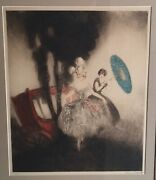 Louis Icart Hand Signed Original Etching And Aquatint The Coach Limited 1926