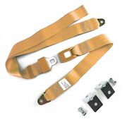 2 Pt. Peach Standard Buckle Lap Seat Belt With Mounting Hardware V8 Street