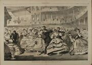 Winslow Homer / Great Russian Ball At The Academy Of Music November 5 1863 Print