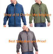 Orvis Menand039s Mixed Media Snow Bird Hybrid Jacket Choose Size And Color New W/ Tag