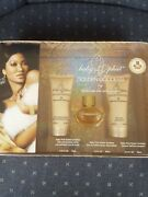 Baby Phat Golden Goddess By Kimora Lee Simmons 3-pcs Gift Set Discontinued New