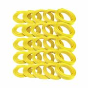 1/8 Neon Yellow Engine And Harness Wire Loom - 250 Feet Rat Truck Rod Stereo Hot
