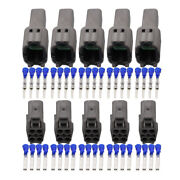 5 Sets 4 Pin 1.5mm Automotive Harness Connectors With Terminal Dj7044c-1.5-11/21