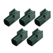 5 Sets 4 Pin 2.2mm Male Waterproof Automotive Connector With Terminal 6181-0513