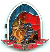 Dlp - Once Upon A Time At Disneyland Paris Pin Event Sleeping Beauty Castle Pin