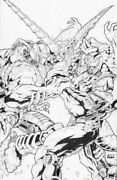 Transformers Beast Wars The Gathering 4 2006 - Don Figueroa Sketch Variant