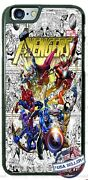 Superheroes Comic Book Collage Phone Case Cover For Iphone Samsung Lg Google