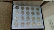 1976 Silver Medals 20 Pieces Set -200 Years Usa Of Independence-japan Mint-rare