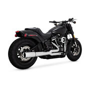 Vance And Hines 2-1 Pro - Pipe Chrome For Harley - Davidson Softail 18-20
