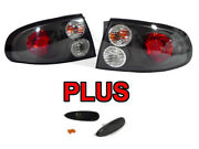 Red/black Clear Tail Lights + Smoke Bumper Side Marker For 2004-2006 Pontiac Gto