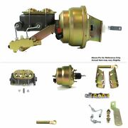 1964-66 Fw Mount Power 7 Dual Brake Booster Kit Disc/disc Fits Ford Mustang