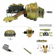 1960-62 Chevy Truck Manual Trans Fw Mount Power 8 Single Booster Kit Disc/disc