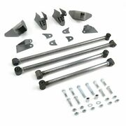 Triangulated Rear Suspension Four 4 Link Kit For 38-53 Buick Fits Tci Shocks