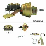 1964-72 Chevy Chevelle Fw Mount Pwr 8 Single Brake Booster Kit Disc/disc Stop