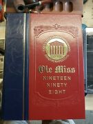 Ole Miss 1998 Annual University Of Mississippi Rebels Yearbook Sesquicentennial