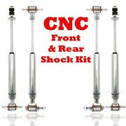 1968 - 1977 Chevrolet Chevelle Front And Rear Performance Shocks Model A Mgb