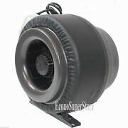 10 Inline 760cfm Hydroponics Duct Tube Exhaust Fan Blower 110v W/leather Sleeve