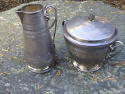 Ford Turpper And Behan 19th Century Sterling Silver Cream And Sugar Set 488.89 T-oz