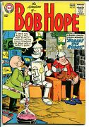Adventures Of Bob Hope 90 1964-dc Comics-robot-white Pages-vg