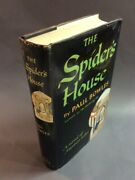 Paul Bowles / The Spiderand039s House First Edition 1955