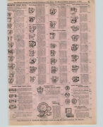 1899 Paper Ad 4 Pg Imported China Cups Saucers Fancy Shapes Shaving Mugs Yankee