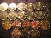 Complete Set Of 20 Coins Canada Vancouver 2010 Olympics .