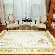 Yilong 6and039x9and039 Great Design Hand Knotted Chinese Art Deco Wool Rug Top Area Carpet