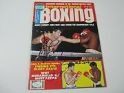 Gerry Cooney Michael And Leon Spinks Signed International Boxing Magazine Jsa Coa