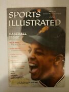 Sports Illustrated April 13, 1959 Willie Mays W/ Label [baseball Issue]