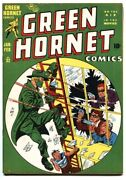 Green Hornet 32 1948 Bob Powell - Blonde Bomber - High Grade