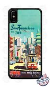 Vintage San Francisco Twa Airlines Phone Case Cover For Iphone Samsung Lg Etc