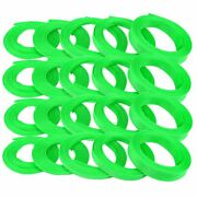 1/4 Neon Green Engine And Harness Wire Loom - 200 Feet Hot Rod V8 Stereo Street