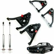 Camaro Firebird Upper And Lower Tubular Control A-arms Gen1 And Performance Shocks