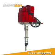 Brand New Ignition Distributor [red] For Chevy Gmc Inline 6 Cylinder 230 250 292