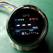 2 52mm Mph Knots Km/h Motorcycle Atvs Digital Lcd Gps Speedometer Fast Shipping