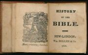 Miniature Book / History Of The Bible 1850