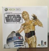 Microsoft Xbox 360 320gb Kinect Star Wars Limited Edition New Sealed