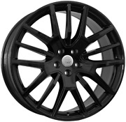 21 Inch Florence Blk Wheels Set - Maserati Levante - Oem Compatible - Italy