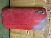 Triumph Spitfire Lh Door With Handle, Glass Late Style From A Florida Car
