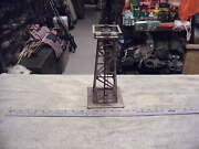 Lionel O Gauge Vintage Rotary Gray /silver Beacon Steel Tower 394 Not Tested