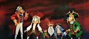And039the Legends Of Treasure Islandand039 1993 Original Cel And Pan Background Master Setup