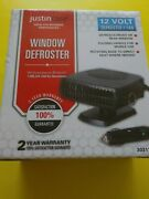 Justin Case Car And Truck Fan Window Defroster, 12 Volt, 303110