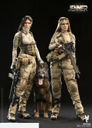 Verycool 1/6 A-tacs Fg Double Women Soldier - Jenner Figures Collection Aandb