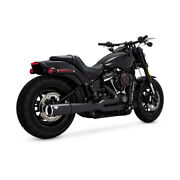 Vance And Hines 2-1 Pro - Pipe Black, For Harley - Davidson Softail 18-19