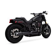 Vance And Hines 2-1 Pro - Pipe Black For Harley - Davidson Softail 18-19