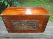 Antique Educational Exhibit Cocoa And Chocolate Walter Baker And Co. Salesman Sample