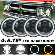 4pcs 5.75and039and039 5-3/4 Round Led Headlights Hi/lo For Chevy Corvette C1 C2 1963-1982