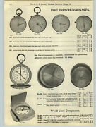 1908 Paper Ad Fine French Compass Brass Pocket Magnifying Glass Coddingtonand039s